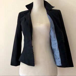 Nanette Lepore Fitted Jacket-Beautiful Lining 2
